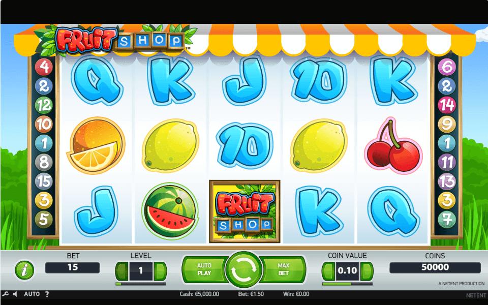 Бонусы в казино Вулкан и игровой автомат Fruit Shop