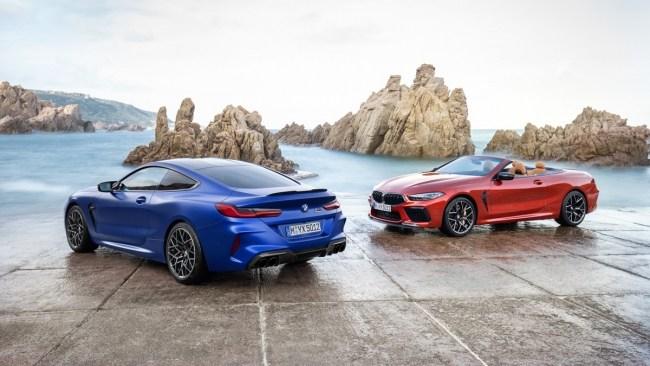 34553 От одного до восьми: BMW M8 Competition. BMW M8 Cabrio (F91)