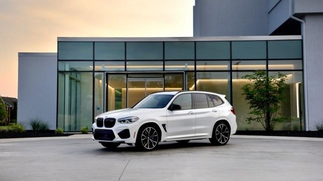 35071 Скажи «сы-ы-ыр!»: тест заряженных кроссоверов BMW X3/X4 M Competition. BMW X4 M (F98)