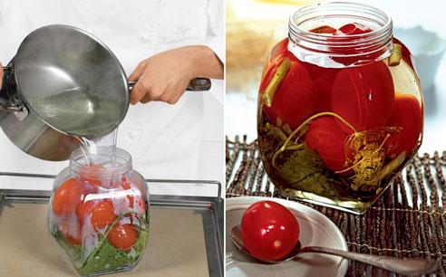 Консервируем томаты: помидоры маринованные классические, со свеклой, фаршированные, вяленые и в желе