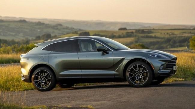 36441 Aston Martin DBX. Рисковый бизнес. Aston Martin DBX