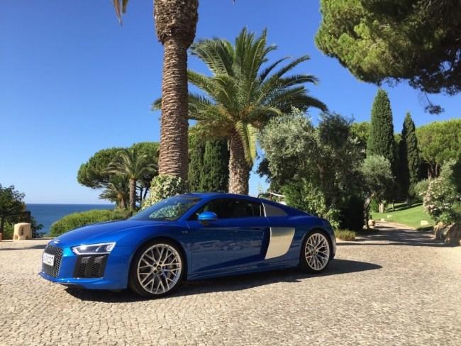 36745 Болид гражданской наружности: Audi R8. Audi R8 Coupe