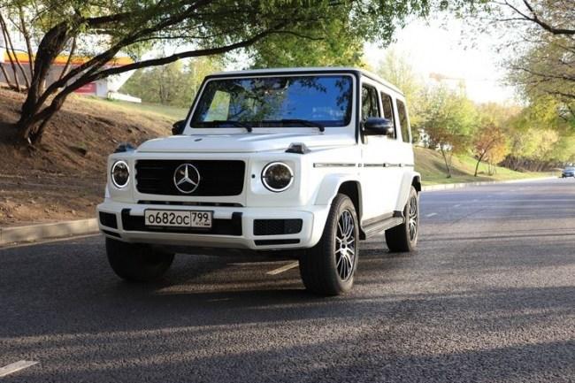 Качок во фраке: Mercedes-Benz G 500. Mercedes G-Class (W463)