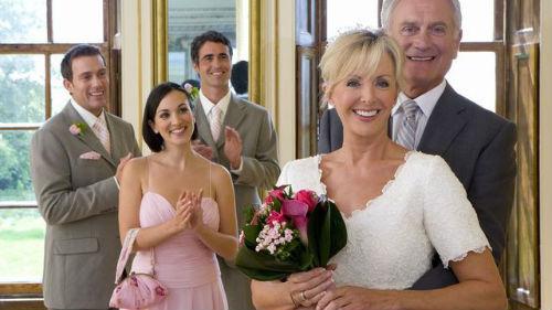 мама в свадебном платье во сне