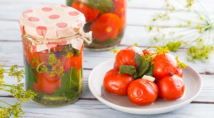 37901 Маринованные, квашеные и соленые помидоры: лучшие рецепты