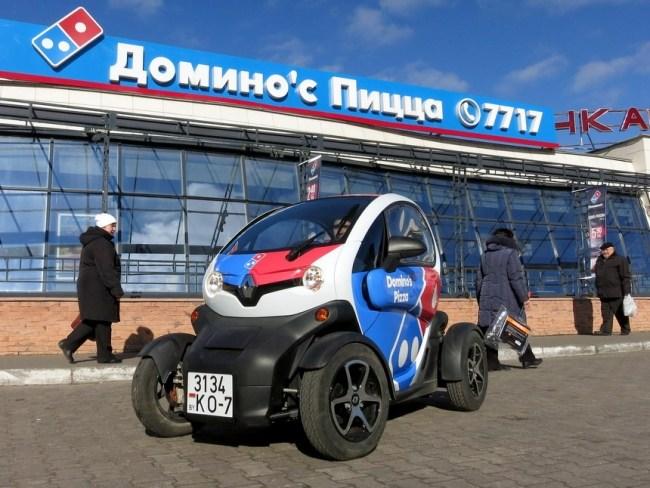 37323 Ценой в полтора Logan и расходом чуть более литра на сотню. Электрический Renault Twizy. Renault Twizy