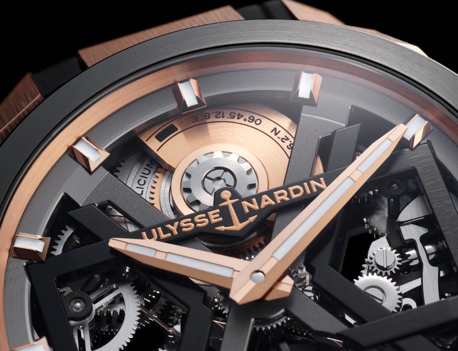 38086 Часы с новейшими технологиями от Ulysse Nardin