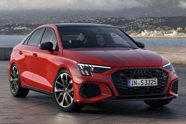 38233 Audi S3 Sedan: Комфортный спортивный седан. Audi S3 Sedan (8Y)
