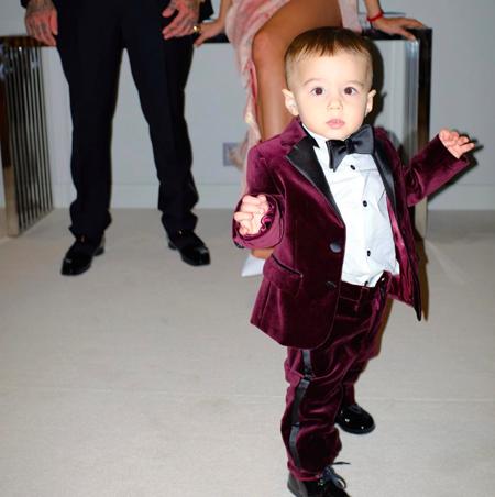 Тимати и Анастасия Решетова поздравили сына с первым днем рождения