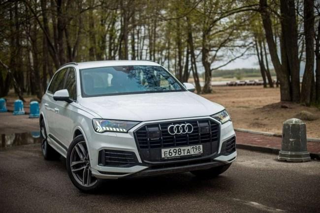 40341 Audi Q7: антикризисный премиум-класс. Audi Q7 (4M)