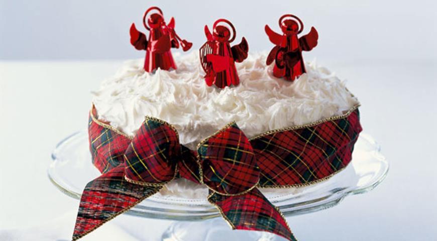 Рождественский кекс Мэри Берри