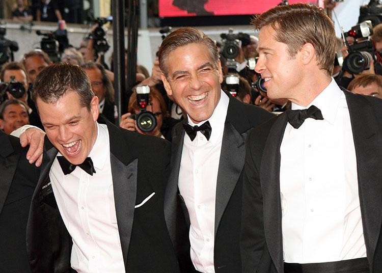 """Джордж Клуни рассказал, как Брэд Питт однажды разыграл его на съемках в Италии: """"Это ужасная история"""""""