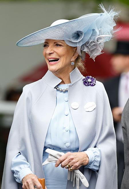 40580 Представитель принцессы Майкл Кентской рассказал о ее состоянии после заражения Covid-19