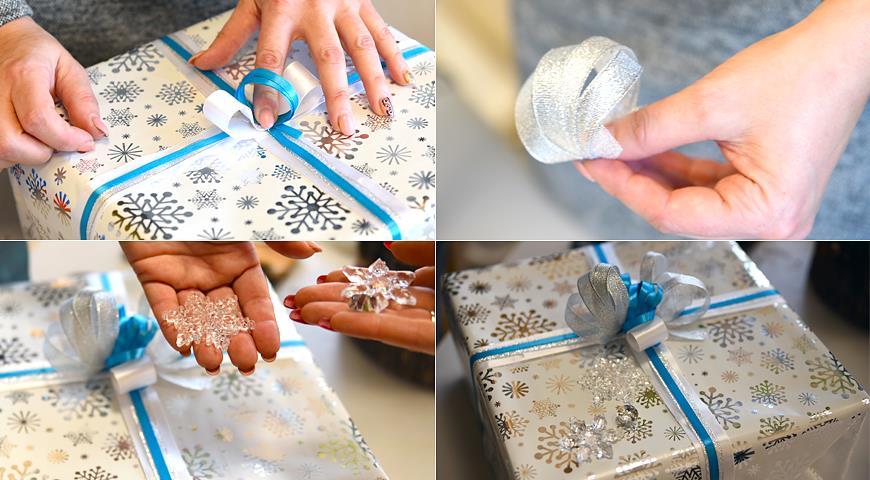 Упаковка подарков к Новому году своими руками: фото и видео