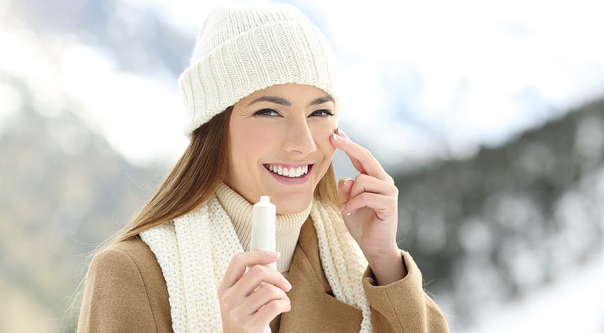 Как ухаживать за кожей лица в холодное время года?