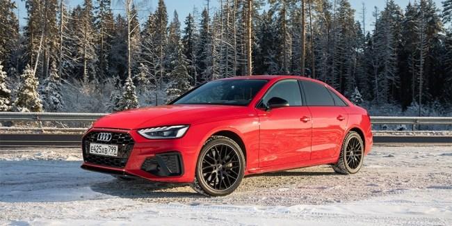 41845 Битва за свайп. Audi A4. Audi A4 (B9/8W)