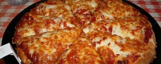 Самая быстрая пицца на сковороде за 10 минут