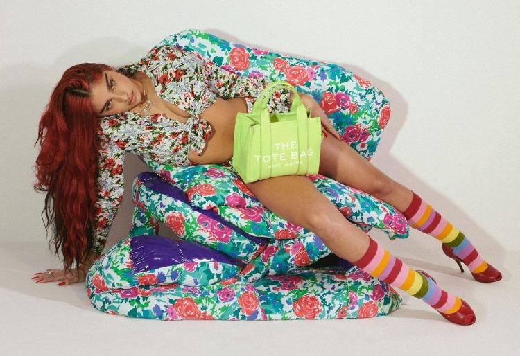 Больше цвета: дочь Мадонны Лурдес Леон в рекламной кампании весенней коллекции Marc Jacobs