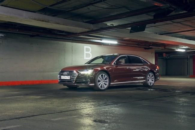 43467 Audi A8 - космический лайнер для земной суеты!. Audi A8 (D5/4N)