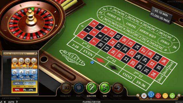 43300 Roulette Classic (Классическая Рулетка) в казино Вулкан официальный сайт