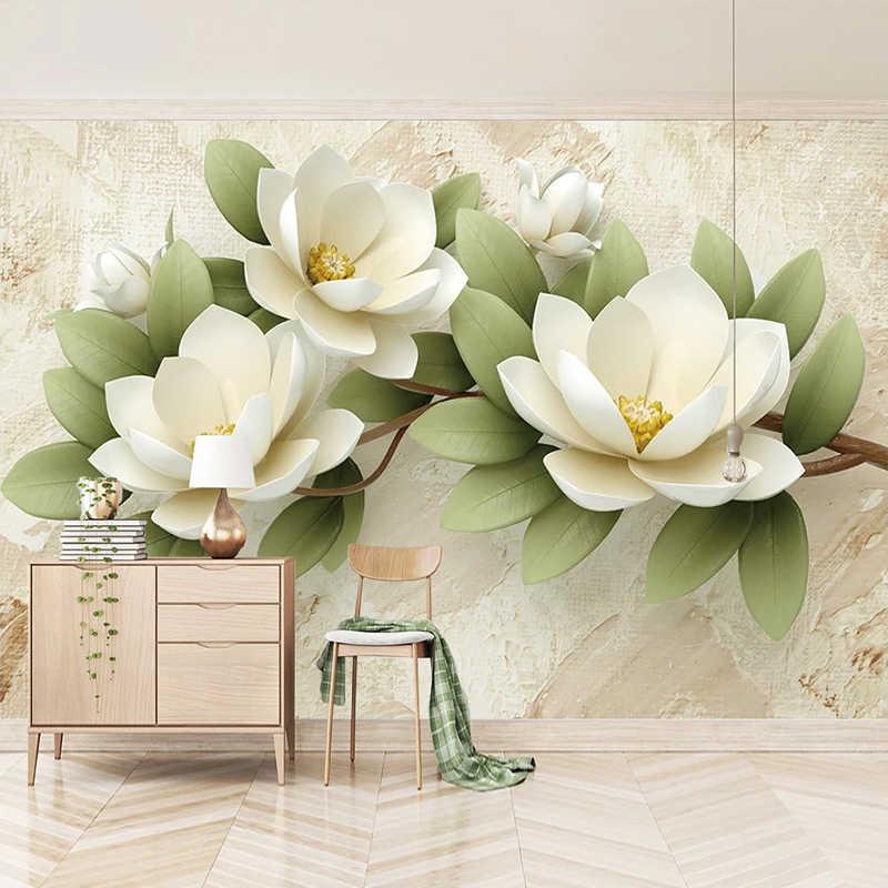 Дизайн и обои с цветами