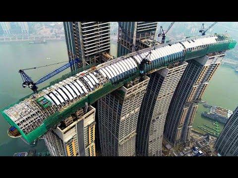 44935 Китай, как ты это делаешь?! Первый в мире горизонтальный небоскреб