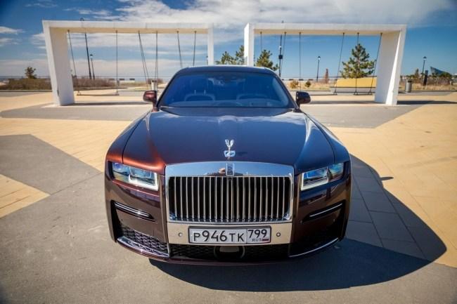44933 Rolls-Royce Ghost Extended: а может ли быть лучше?. Rolls-Royce Ghost