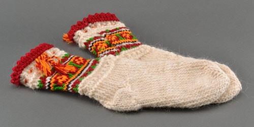 45004 Шерстяные носки во сне