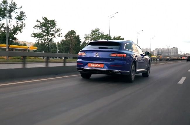 Volkswagen Arteon поведения на дороге