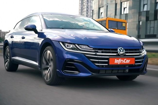 Volkswagen Arteon в городе