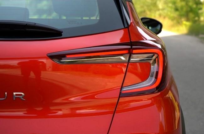 Renault Captur задние фонари