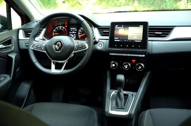 Renault Captur салон