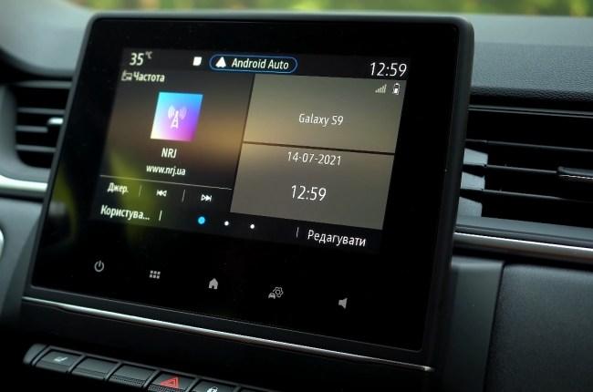Renault Captur мультимедийная система