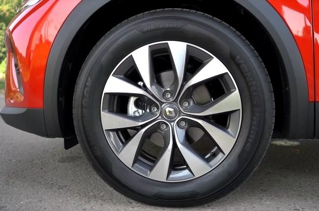 Renault Captur колеса
