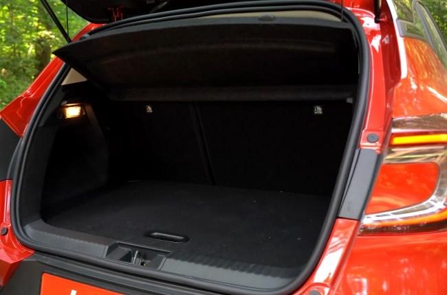 Renault Captur багажник