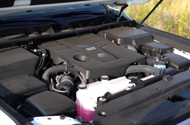 Toyota Land Cruiser 300 двигатель