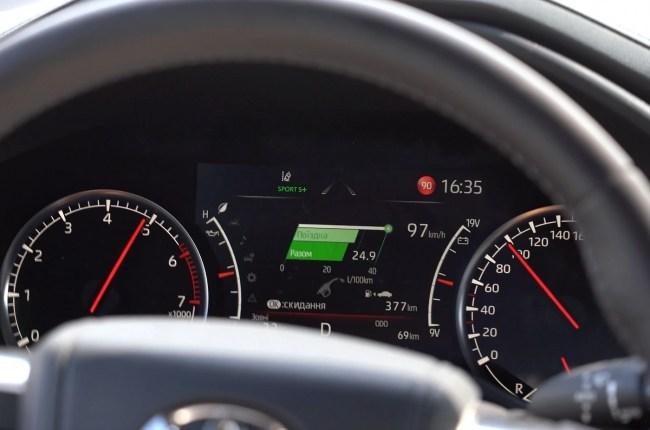 Toyota Land Cruiser 300 разгон до 100