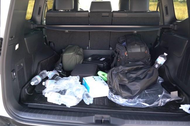 Toyota Land Cruiser 300 багажник