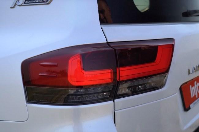 Toyota Land Cruiser 300 задние фонари