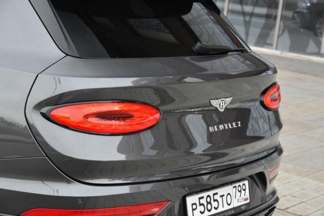 Дорого-богато: Bentley Bentayga. Bentley Bentayga