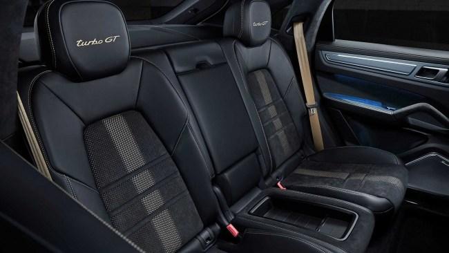 Бешеный паркетник. Porsche Cayenne Turbo GT. Porsche Cayenne Turbo Coupe (PO536/9YA)