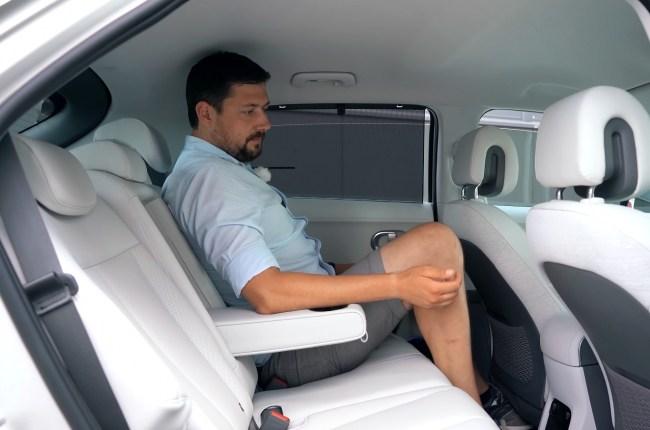 Hyundai IONIQ 5 второй ряд сидений