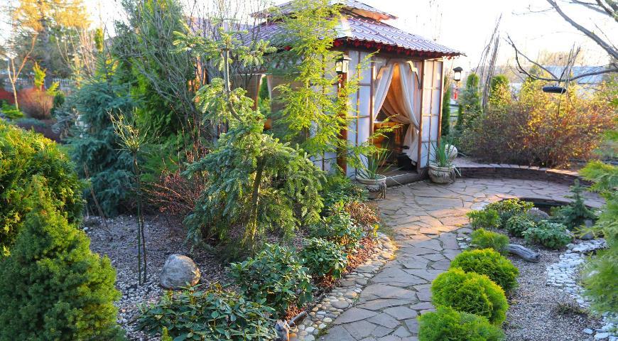 Уголок китайского сада