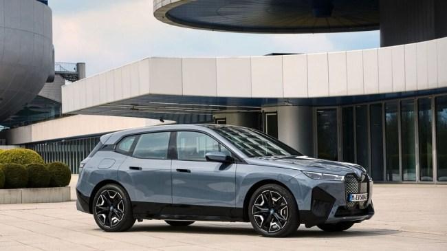 Красивое?… Встречайте BMW iX. BMW iX