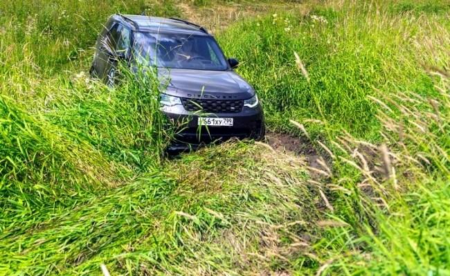45217 Оптическая иллюзия: Land Rover Discovery. Land Rover Discovery