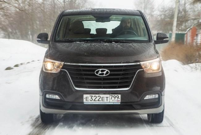 Hyundai H-1: Примерный, но не семьянин. Hyundai H-1