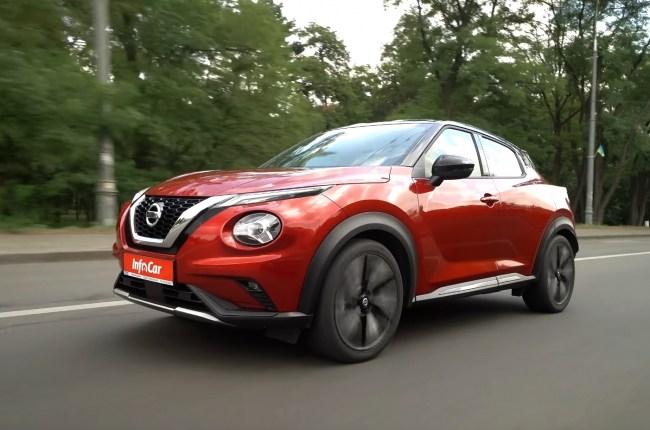 Nissan Juke поведение на дороге