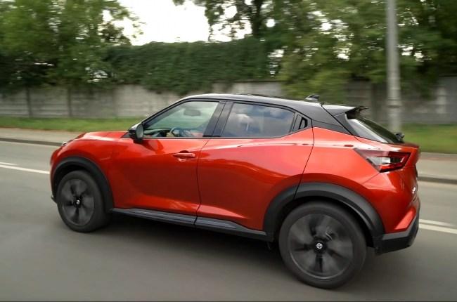 Nissan Juke в городе