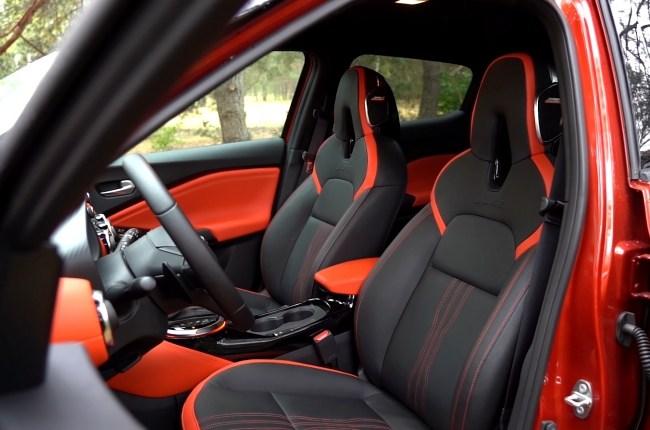Nissan Juke сиденья