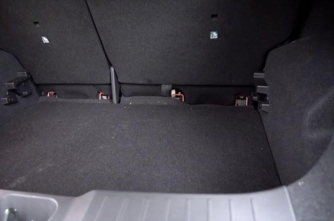 Nissan Juke багажник